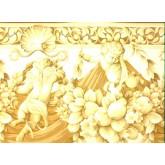 Clearance: Curtains Wallpaper Border b653361