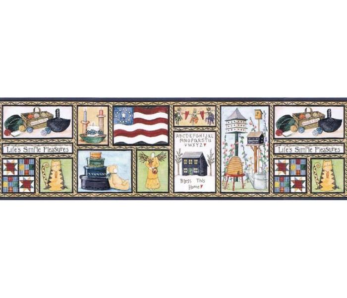 Country Wallpaper Borders: Country Wallpaper Border B67002