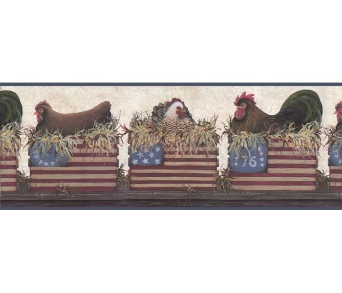 Clearance: Birds Wallpaper Border B67052