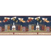 Faith and Angels Angels Wallpaper Border AV67184 Shelbourne Wallcoverings
