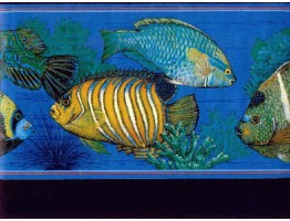 Fish Wallpaper Border b673013