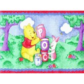 Clearance: Winnie the Pooh Wallpaper Border WFP6819