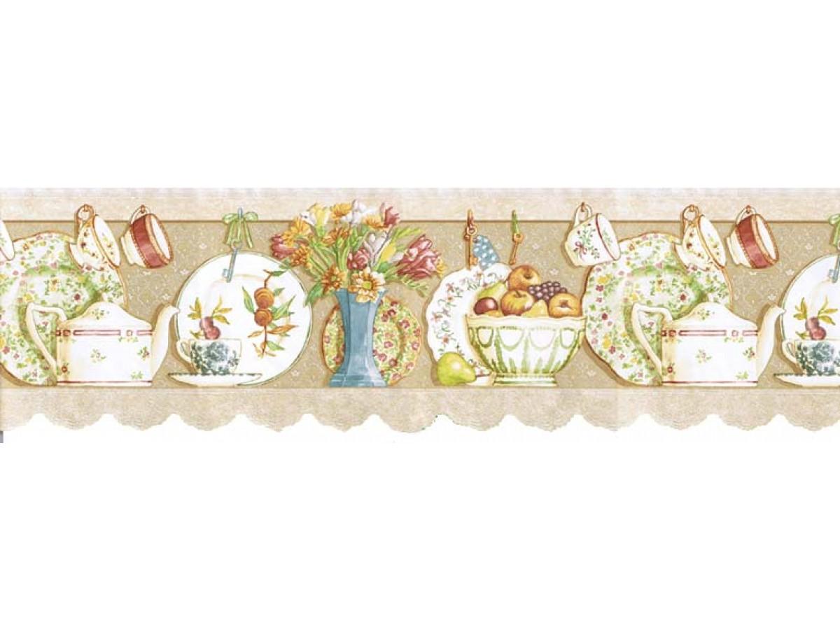 Kitchen Wallpaper Border B7002