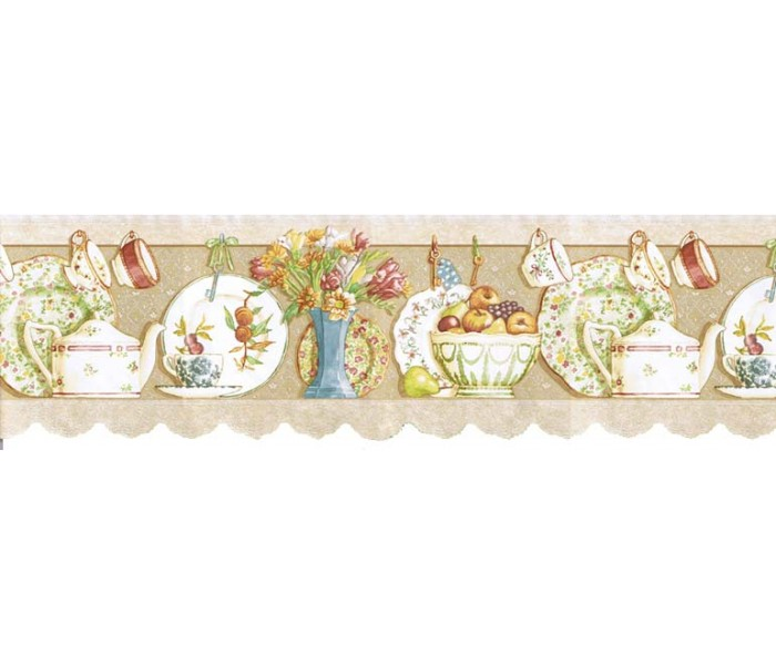 Kitchen Wallpaper Borders: Kitchen Wallpaper Border b7002