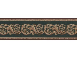 Prepasted Wallpaper Borders - Contemporary Wall Paper Border TM70973