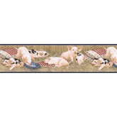 Lodge Animals Wallpaper Border B7101AFR Imperial Wallcoverings