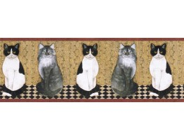 Cats Wallpape Border AFR7103