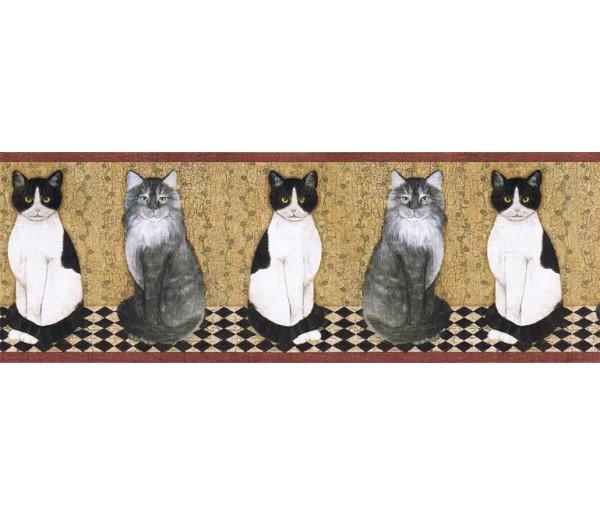 Cats Wallpape Border AFR7103