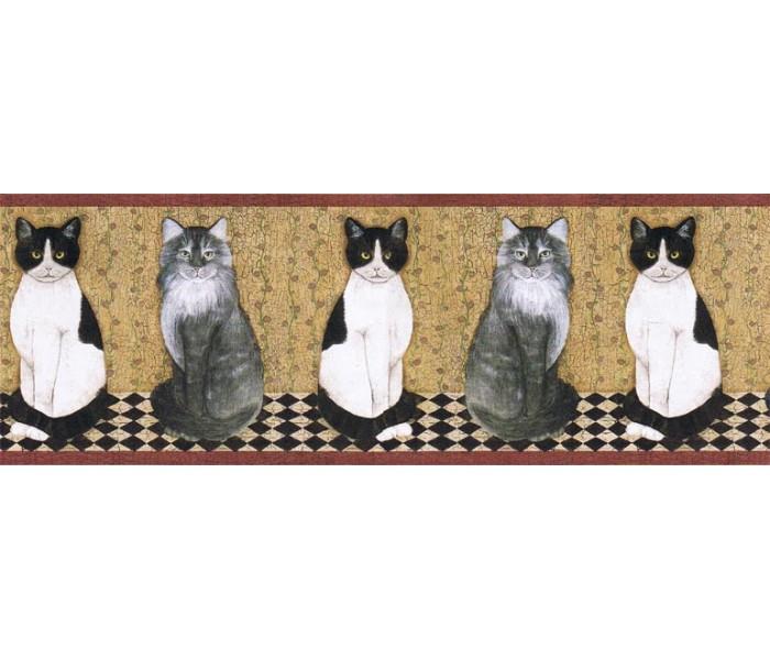 Cats Wallpaper Borders: Cats Wallpape Border AFR7103