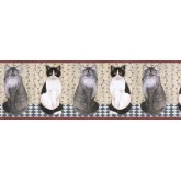 Cats Wallpaper Borders: Cats Wallpape Border AFR7105