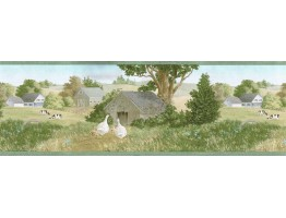 Country Wallpaper Border AFR7119