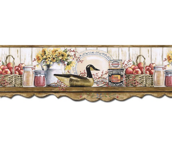 Kitchen Wallpaper Borders: Kitchen Wallpaper Border B7127AFR