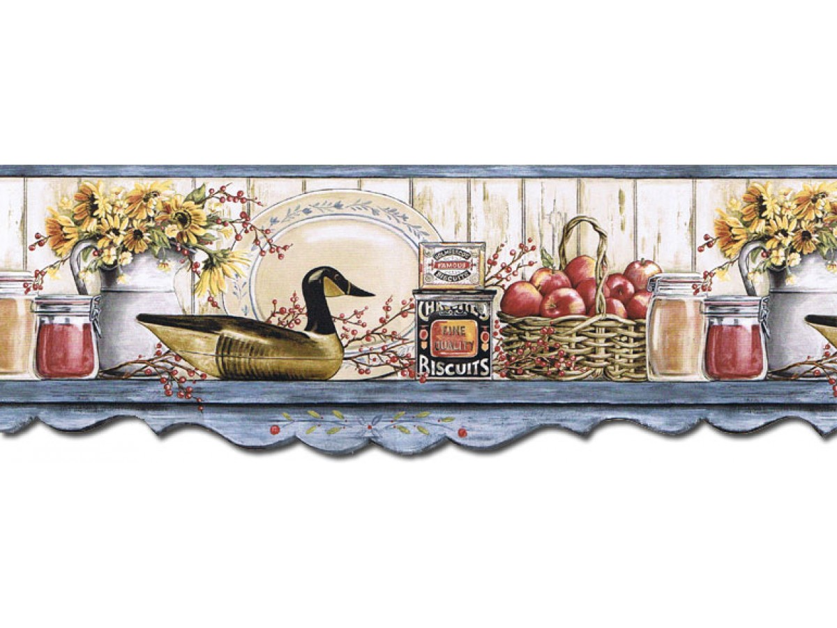 Kitchen Wallpaper Borders : Kitchen Wallpaper Border B71 ...