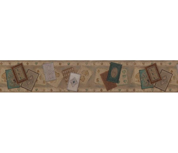 Clearance: Contemporary Wallpaper Border B71612