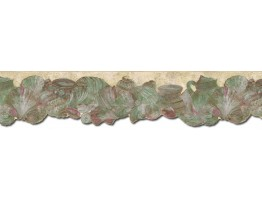 Prepasted Wallpaper Borders - Conch Wall Paper Border B72810
