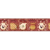Kitchen Wallpaper Borders: Kitchen Wallpaper Border VIN7304B