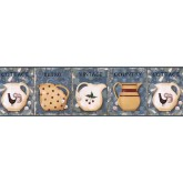 Clearance: Kitchen Wallpaper Border VIN7305B
