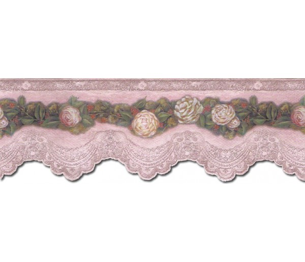 Floral Wallpaper Borders: Floral Wallpaper Border VIN7320DB