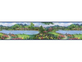 Prepasted Wallpaper Borders - Country Wall Paper Border B73250