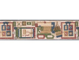 Novelty Wallpaper Border VIN7332B
