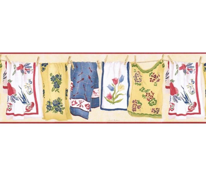 Laundry Wallpaper Borders: Laundry Wallpaper Border VIN7336B