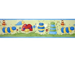 Prepasted Wallpaper Borders - Kids Wall Paper Border b73513