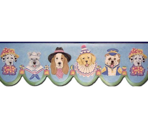 Clearance: Dogs Wallpaper Border B73565