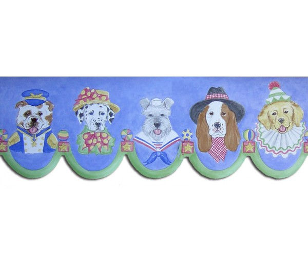 Clearance: Dogs Wallpaper Border LA73566B