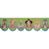 Clearance: Dogs Wallpaper Border B73568LA