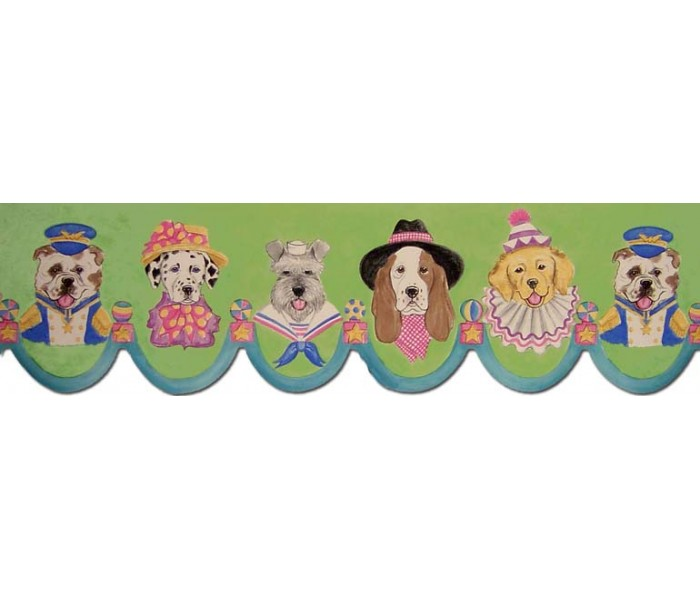 Clearance: Dogs Wallpaper Border B73568LA