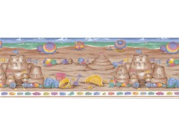 Beach Wallpaper Border LA73582B