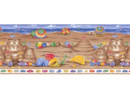 Beach Wallpaper Border LA73583B