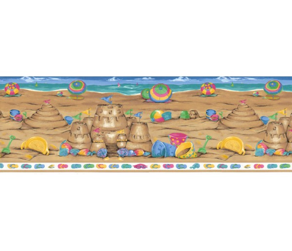 Clearance: Kids Wallpaper Border B73584