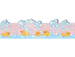 Prepasted Wallpaper Borders - Kids Wall Paper Border LA73596B
