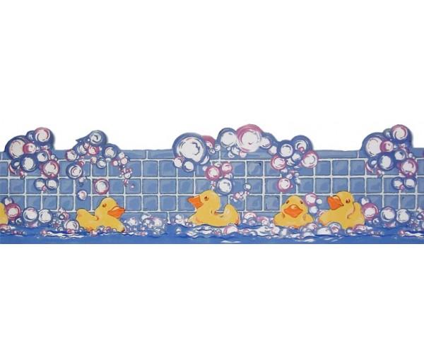 Clearance: Ducking Wallpaper Border LA73597B