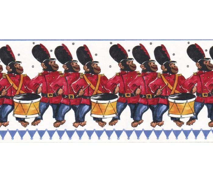 Toys Wallpaper Borders: Animals Wallpaper Border B73598