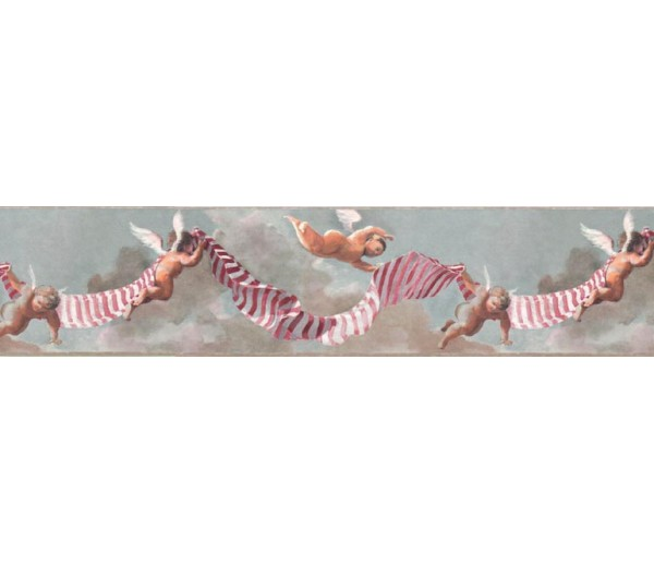 Clearance: Novelty Wallpaper Border B7361BK