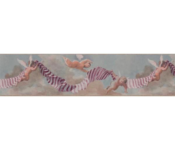 Prepasted Wallpaper Borders - Novelty Wall Paper Border B7364BK