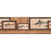 Clearance: Fish Wallpaper Border b7374150