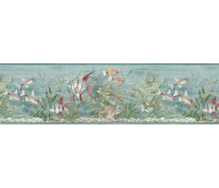 Clearance: Fishes Wallpaper Border B74054