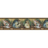 Vintage Wallpaper Borders: Novelty Wallpaper Border b742329