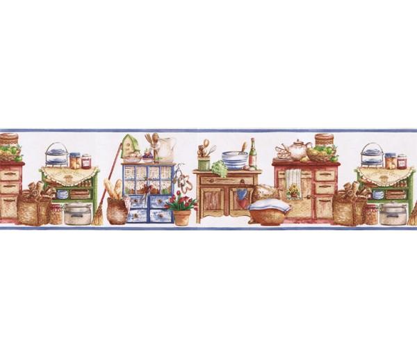 Kitchen Wallpaper Borders: Kitchen Wallpaper Border SK74392