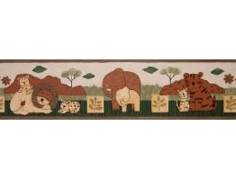 Animals Wallpaper Border B74508