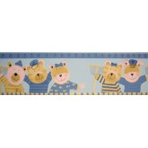 Clearance: Animals Wallpaper Border B74514