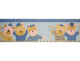 Prepasted Wallpaper Borders - Animals Wall Paper Border B74514