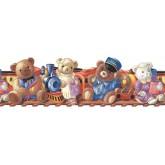 Clearance: Teddy Bear Wallpaper Border B74846