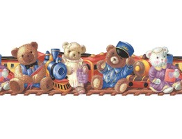 Teddy Bear Wallpaper Border B74846