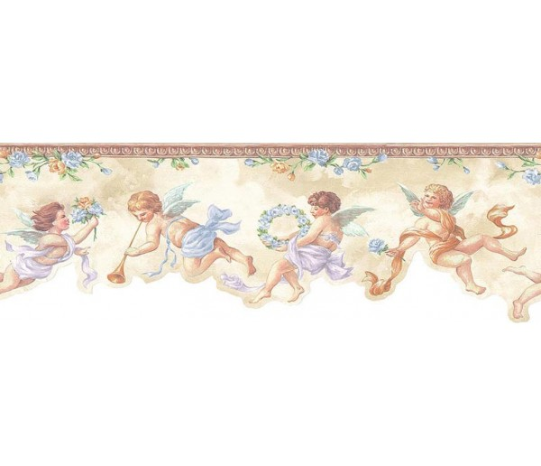 Faith and Angels Angels Wallpaper Border NK74868DC S.A.MAXWELL CO.