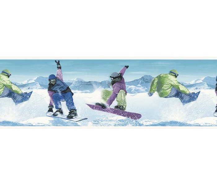 Boarding Sports Wallpaper Borders: Skate Wallpaper Border B74880