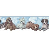 Dogs Dogs Wallpaper Border B74881 S.A.MAXWELL CO.